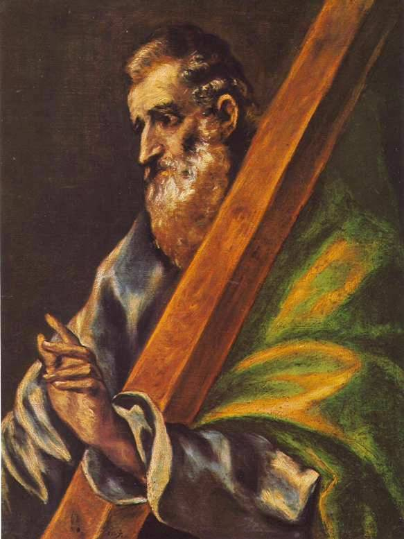 St Andrew, painting by El Greco