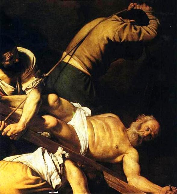 The Crucifixion of St Peter, Caravaggio