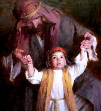Family Walking with God, Morgan Weistling
