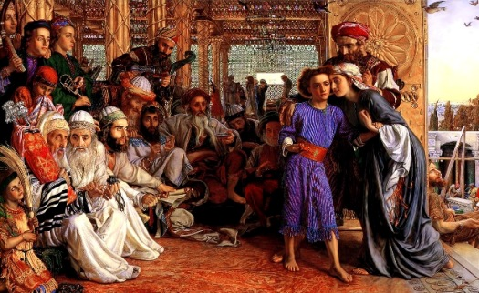Finding the Savior in the Temple, John Holman Hunt