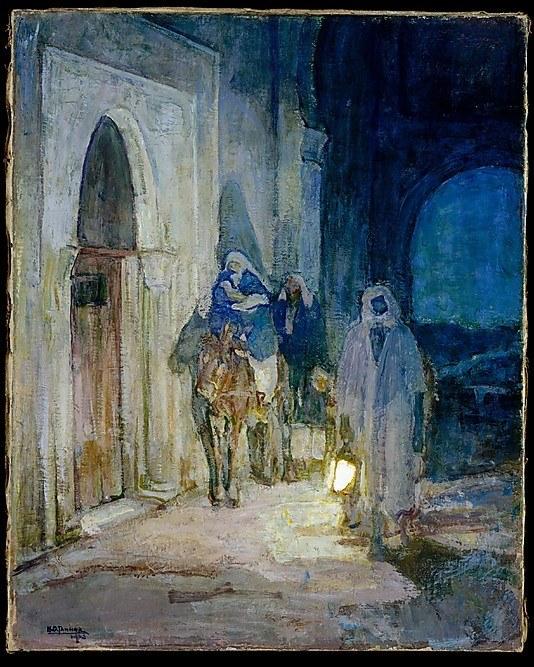 Flight into Egypt, Henry Ossawa Tanner, 1923