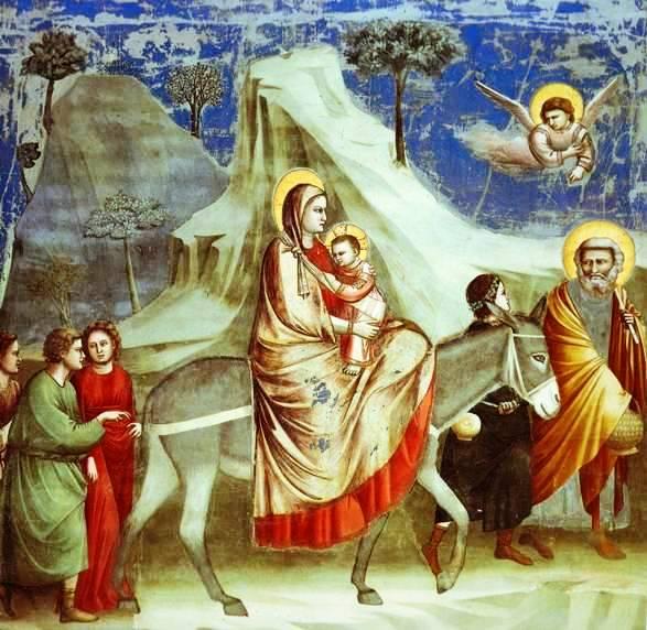 Giotto, The Flight into Egypt