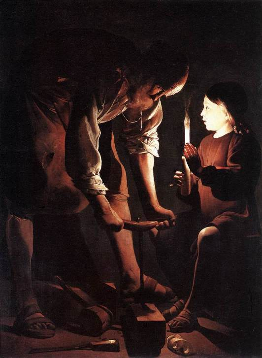 Joseph the Carpenter, George de la Tour