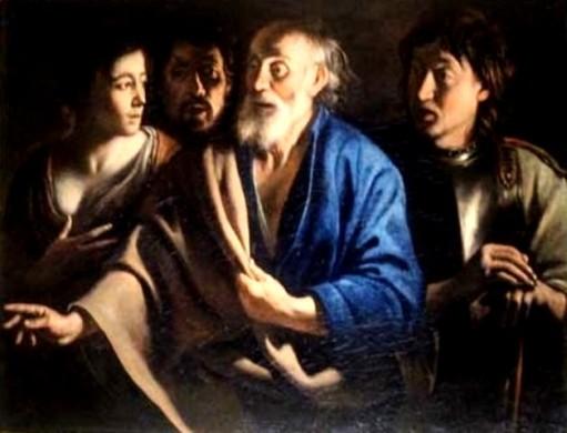 Saint Peter's Denial, Antoine/Louis Le Nain