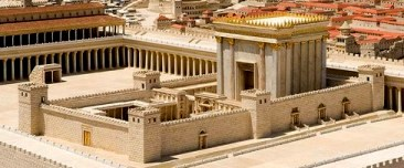 Reconstruction of the Temple in Jerusalem at the time of Jesus