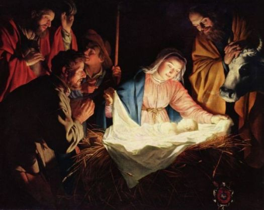 The Birth of Jesus, Gerard van Honthorst, 1622