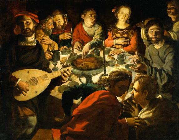 The Marriage Feast at Cana, by Jan Vermeyen