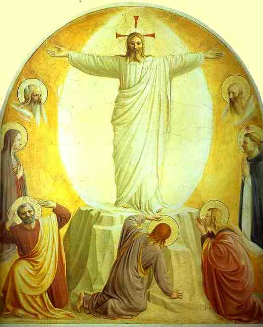 The Transfiguration, Fra Angelico