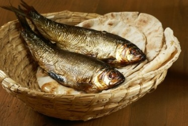 Image result for images of bread and fish