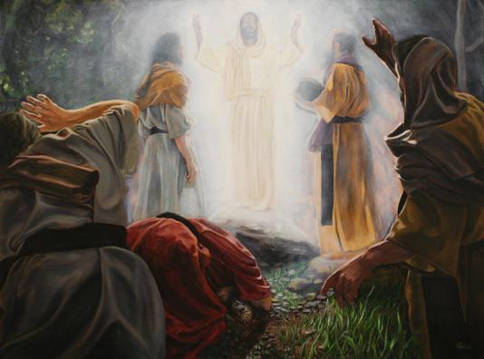 Transfiguration, unknown artist