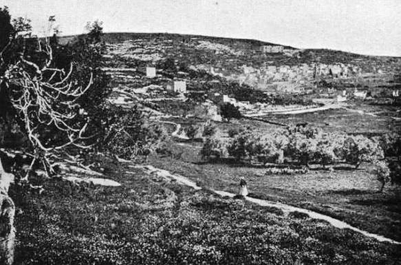 The village of Nazareth in the 19th century