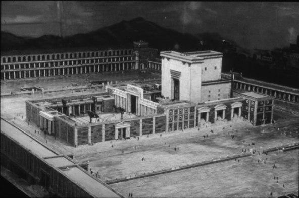 Alex Gerrard's model of the Jerusalem Temple