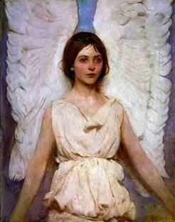 Angel, by Abbott Handerson Thayer, 1887, painting