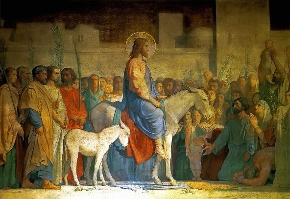 Christ's Entry into Jerusalem, Hippolyte Flandrin, 1842