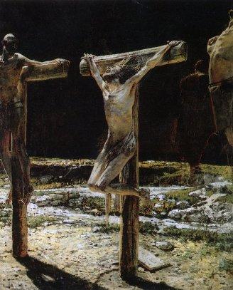 Crucifixion, Nicolas Ge