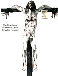 Crucifixion, drawing by Charles Pickard