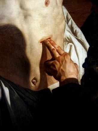 Doubting Thomas, Francisco de Zurbaran, 1635