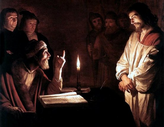 Jesus before the High Priest. Gerard von Honthorst