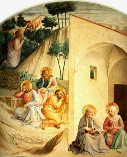 Jesus in the Garden of Gethsemane, Fra Angelico