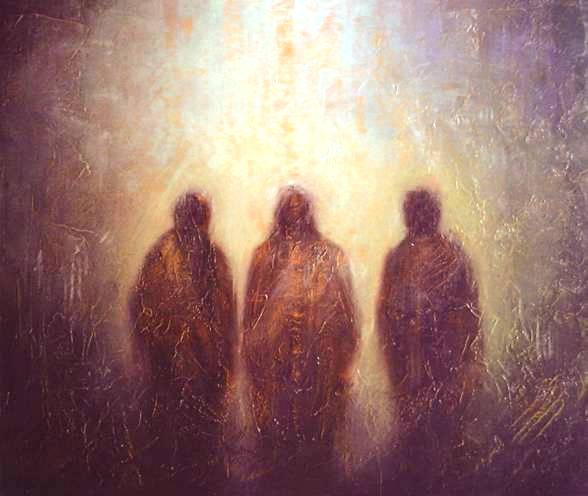On the road to Emmaus, Helge Boe