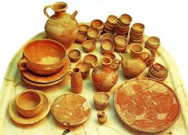 Pottery from ancient Palestine
