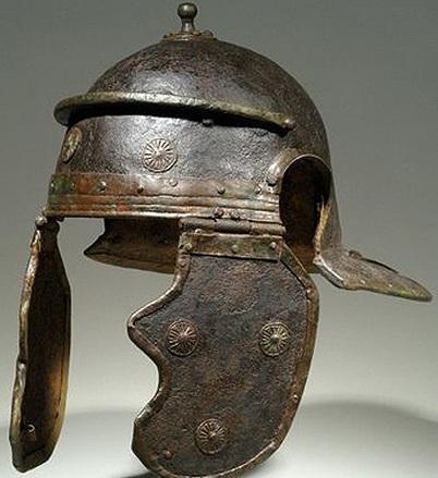 Soldier''s helmet, Roman, 1st century
