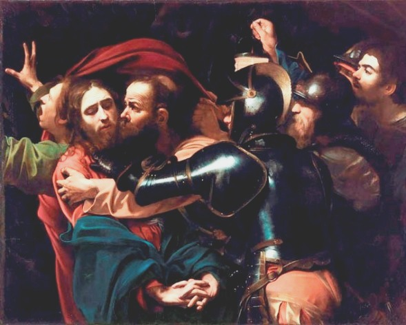 The Betrayal of Jesus by Judas, Caravaggio