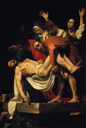 The Burial of Jesus, by Caravaggio