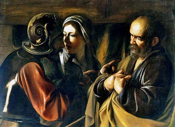 The Denial of Peter, Caravaggio