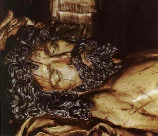 The Entombment, Juan de Juni, Spanish, wooden carving