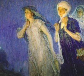 The Three Marys by Henry Osawa Tanner, 1910