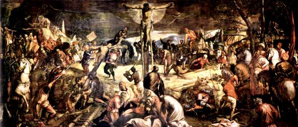 Tintoretto, Crucifixion, Scuola di San Rocco