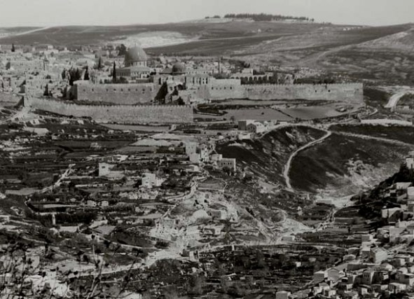 Where it happened- the city of ancient Jerusalem