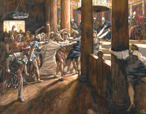A 19th century painting of this event, by James Tissot