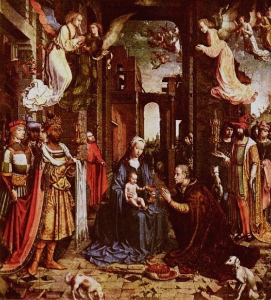 Adoration of the Kings, Jan Gossaert de Mabuse (Maubeuge)
