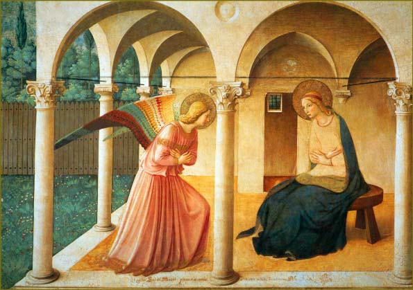 Annunciation, Fra Angelico, 1438