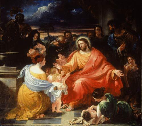 Christ Blessing the Children, Benjamin Robert Haydon