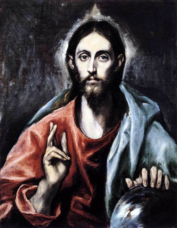 El Greco, Cristo Salvator Mundi (Christ, Savior of the World)