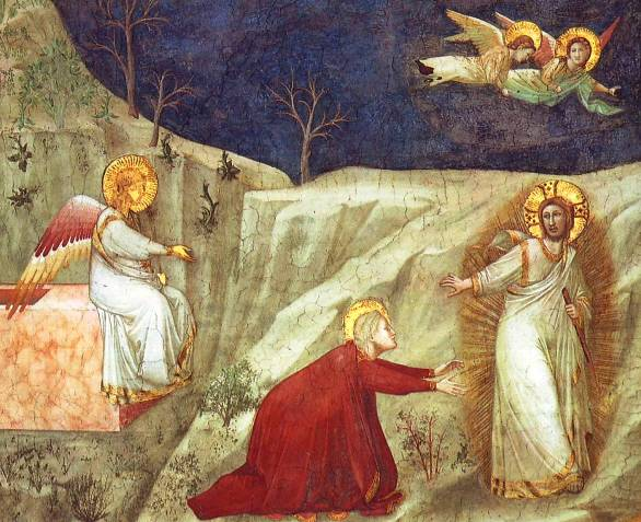Giotto, Noli Me Tangere ('Do not touch me' )