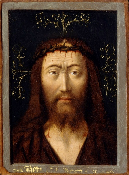 'Head of Christ', Petrus Christus