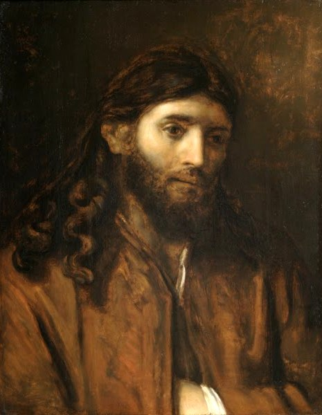 'Head of Christ', Rembrandt