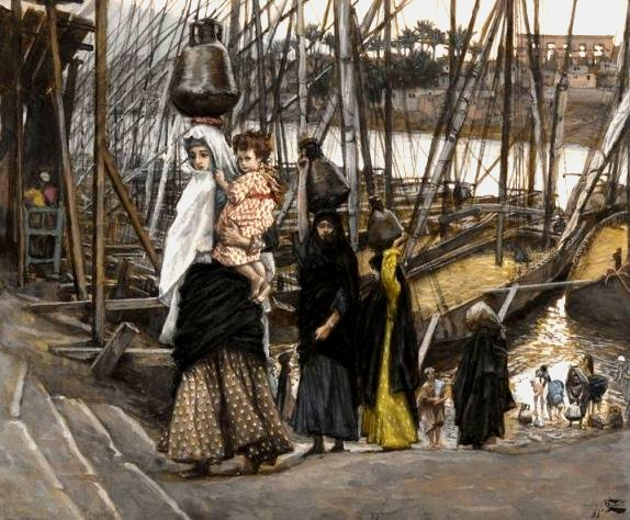 James Tisssot's Sojourn in Egypt