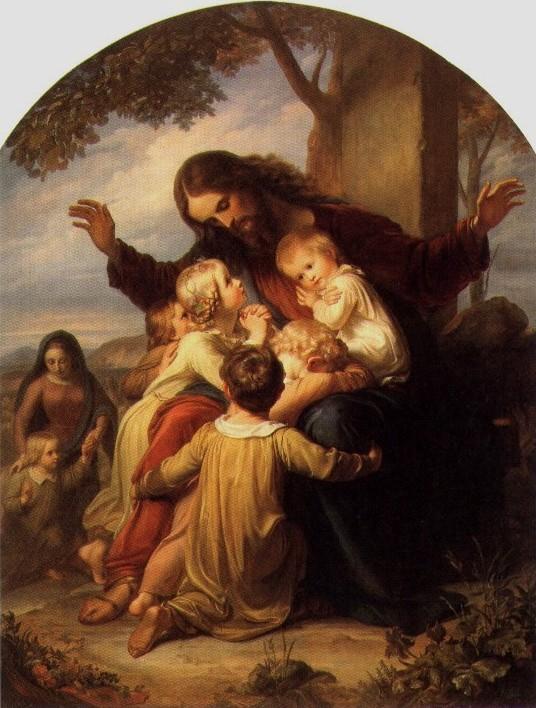 Jesus and the Little Children, Vogel von Vogelstein