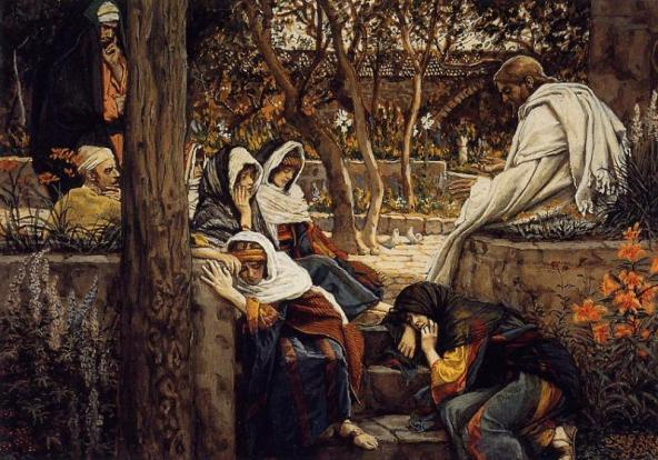 Jesus at Bethany, James Tissot, 1894
