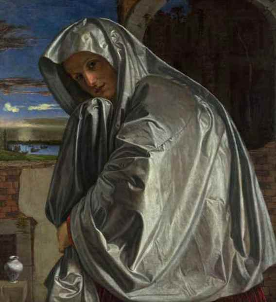 'Mary Magdalene Approaching the Tomb', Gian Girolamo Savoldo, 1535-40