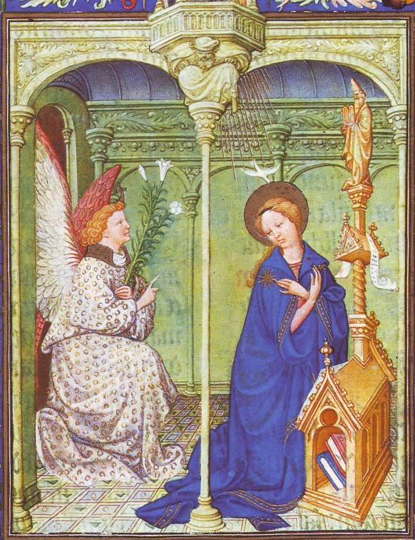 Mary and the Angel Gabriel