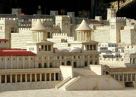 Reconstruction of the palace of the Hasmonean royal family in Jerusalem