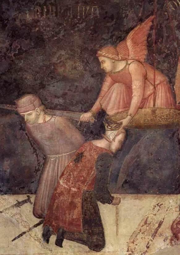 Salome receives John's head