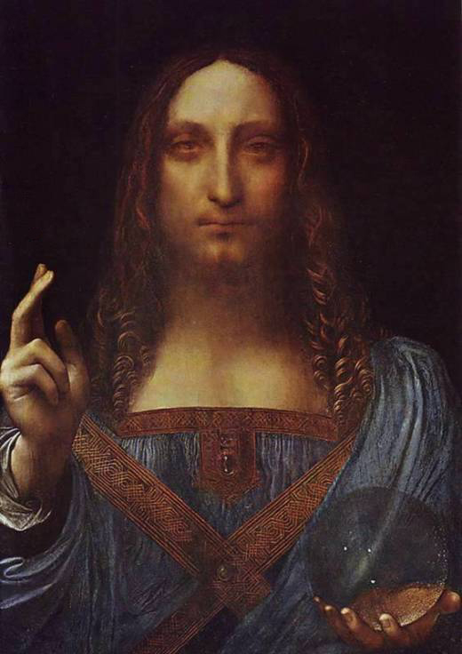 'Salvator Mundi' (Saviour of the World), Leonardo da Vinci