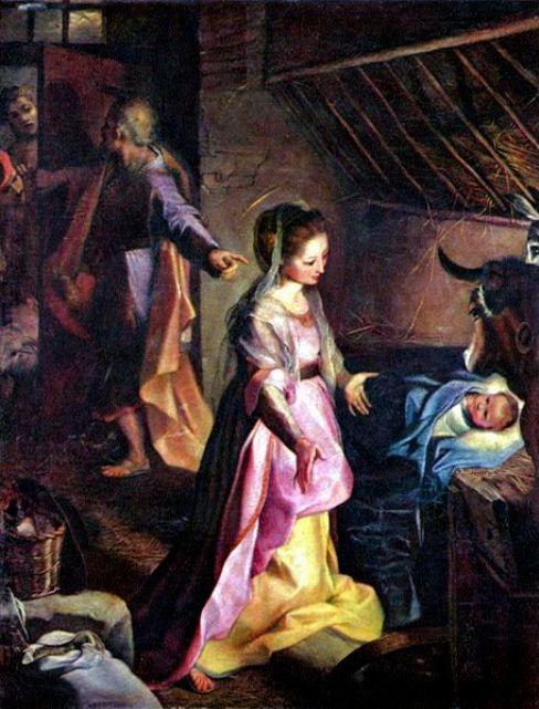The Birth of Christ, Federico Barocci, 1597